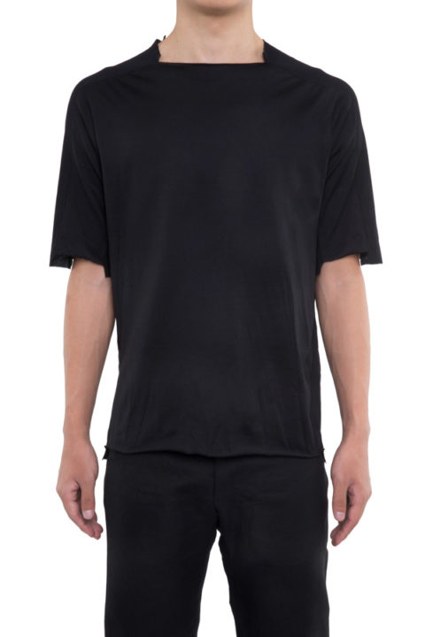 LOOSE FIT SHORT SLEEVE MIXED TEE