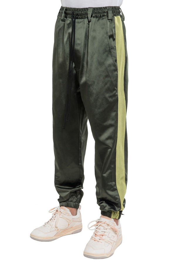 AW18SF BAGGY SIDE TAPE TRACKIES GREEN 2