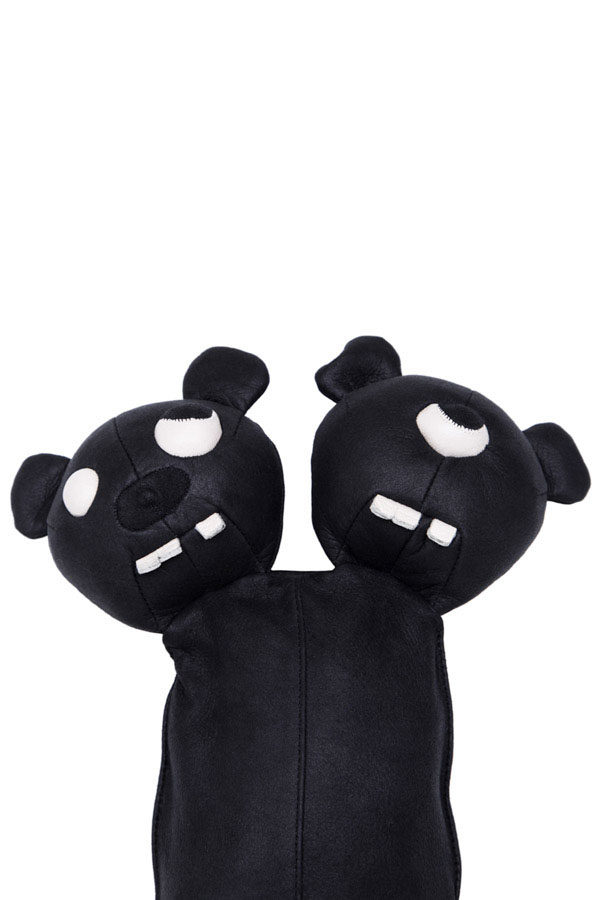 SS19 RICK OWENS LEATHER SIAMESE BEAR 3