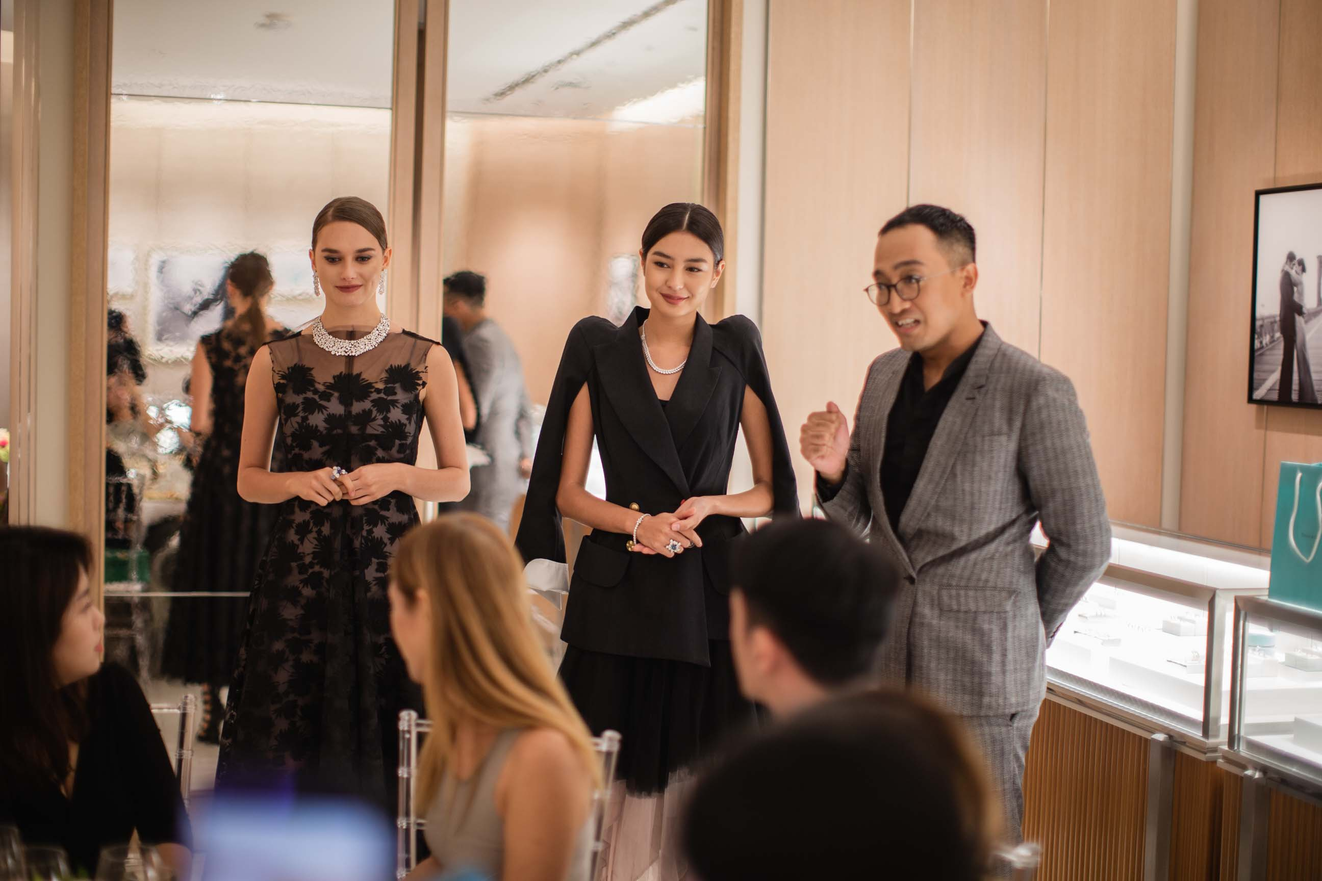 A glimpse into the private dinner for L'armoire and Tiffany & Co