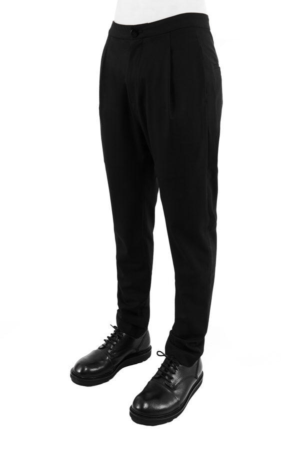 PLEATED SLIM TROUSERS 2