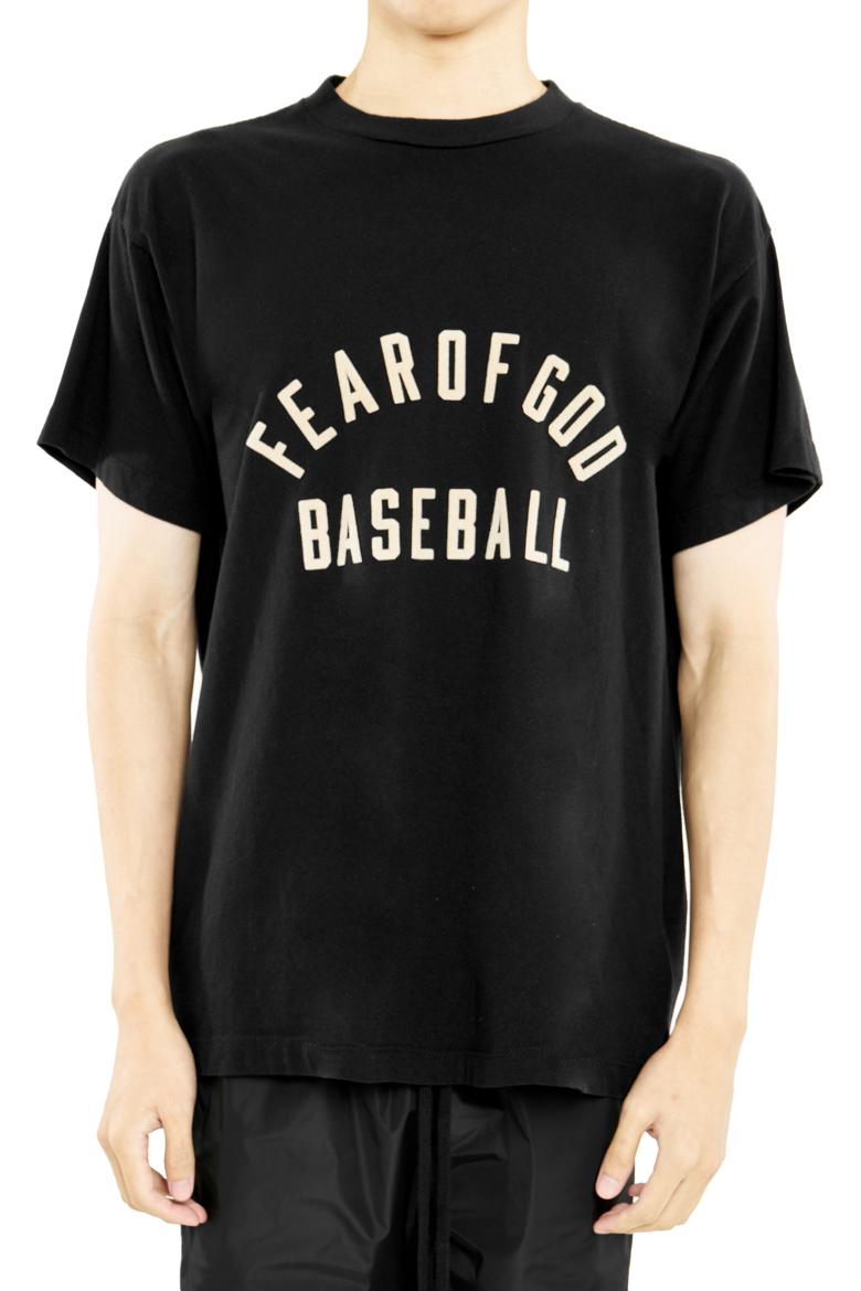 FEAR OF GOD SEVENTH COLLECTION BASEBALL TEE BLACK 2